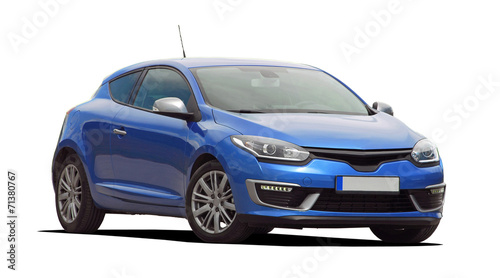 blue car - 71380767