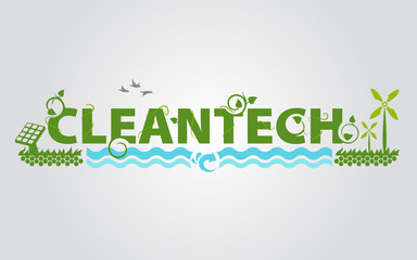 Cleantech eco energy science