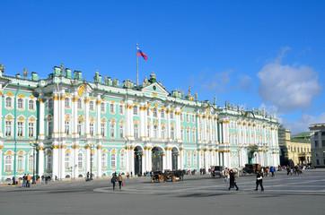 Санкт-Петербург, дворцовая площадь, Зимний дворец