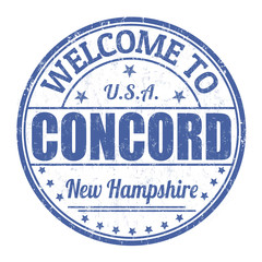 Welcome to Concord stamp