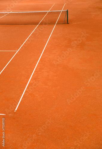 Foto op Canvas Stadion Tennisplatz