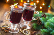 canvas print picture - Christmas mulled wine