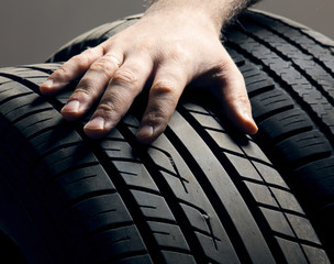 Automobile tires.