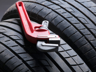 Automobile tires.