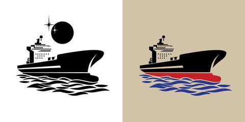 transport ship symbol