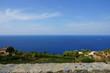 canvas print picture - Mallorca von seiner Bergigen seite mit blick auf das Meer
