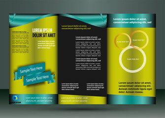 Leaflet template element vector