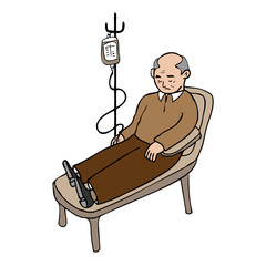 Old man infusion
