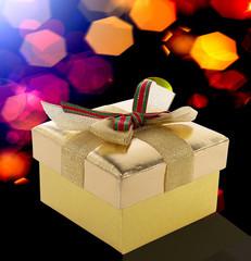 Box gift.Holidays background