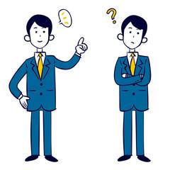 ビジネスマンの気づきと疑問