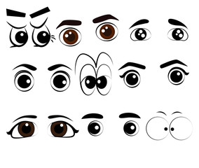 Vector Eye Action Style