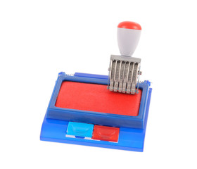 Ink pad and rubber stamp