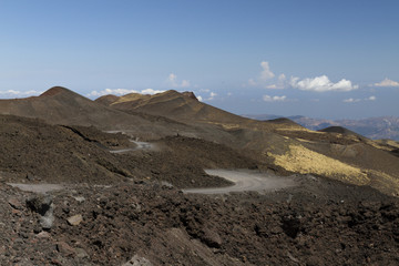 Monte Etna versante  nord