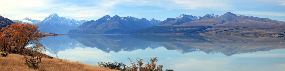 Mountain Cook Panorama New Zealand
