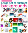 Large mega set of abstract backgrounds, sale