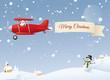 Snowy Air Message