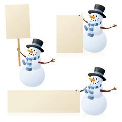 Snowman's Sign