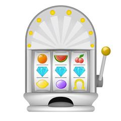 three diamond winning on play machine object