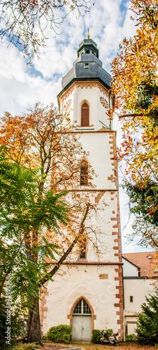 canvas print picture Läutturm Ehem. St.-Georgs-Kirche Speyer Rheinland-Pfalz