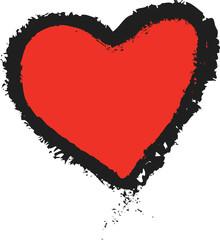 doodle heart