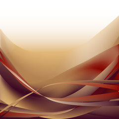 Colorful waves abstract background ocher and white magenta