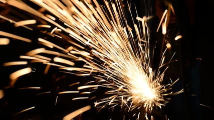 sparkling iron