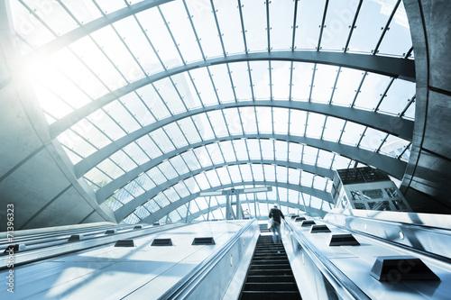 Canary Wharf metro Station, London, England, UK - 71396323