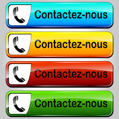 Vector contact buttons