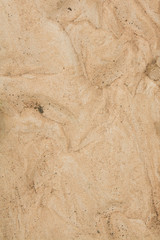 Dry agricultural brown soil detail natural background