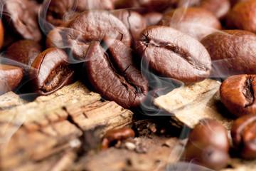 Aromatische kaffe bohnen