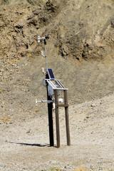 sonde thermique à Death Valley