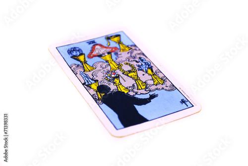 タロットカード カップ7