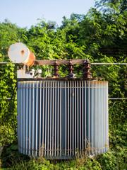 old High-voltage power transformer
