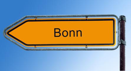 Strassenschild 7 - Bonn