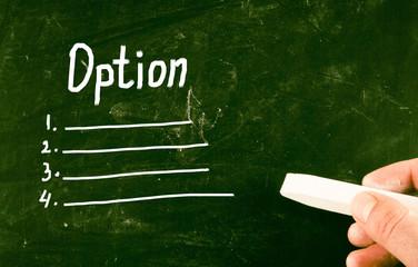 option concept