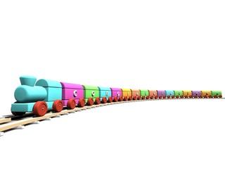 Congratulations color train