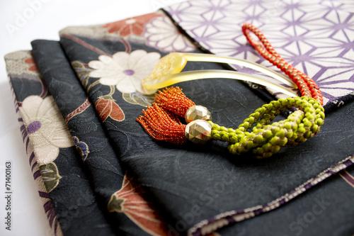 着物の帯と組紐 - 71400163