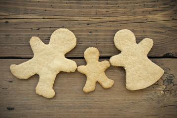 Blank Ginger Bread Family
