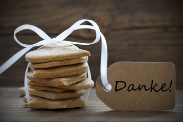 Ginger Bread with Danke Label