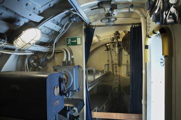 Submarine Vesikko in Suomenlinna. Finland