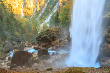 Waterfall in the Triglav valley