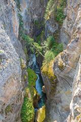 Maligne Canyon in Alberta