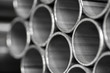 abstract background  of metal pipe - 71401713