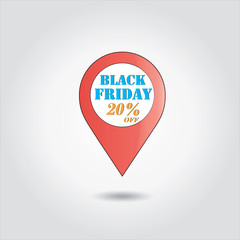 black Friday sales ,shopping 20 % offer