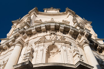 San Matteo Church, Lecce in Southern Italy.