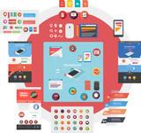 Web design start-up kit poster