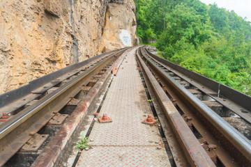 Historical Kanchanaburi rail