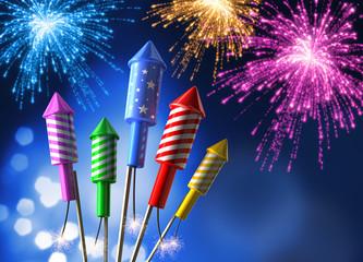 Feuerwerksraketen 2