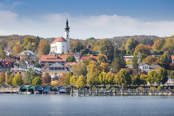 Starnberg at autumn
