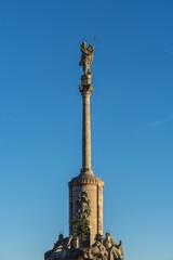 Saint Raphael Triumph statue in Cordoba, Spain.